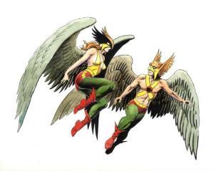 Hawkman and Hawkgir