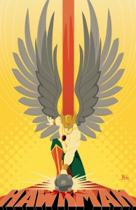 Hawkman image by Mike Mahle