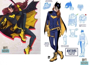 Batgirl's new look, from artist Babs Tarr and writer Cameron Stewart.