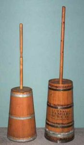 Dash churns, from dairyantiques.com.