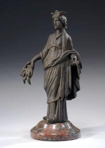 Bronze statuette of Rosmerta.