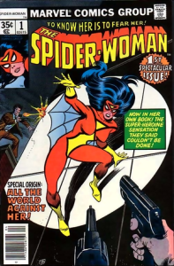 The very first Spider-Woman cover.