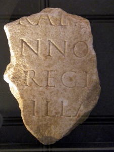 Inscription dedicated to Apollo Grannus from Grand in France. (Photo by Carole Raddato, Flickr)