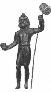 Bronze image of Sucellus from France.