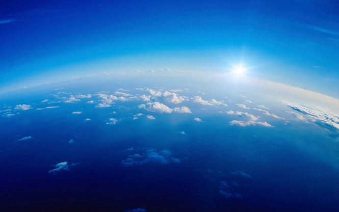 blue sky light
