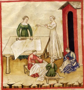 medieval flax production