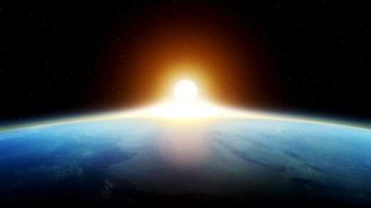 Sun Over the Earth's Horizon | Daily Dose of Daylight | www.Ciralight.com