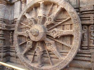 Sun wheel from Wikimedia.
