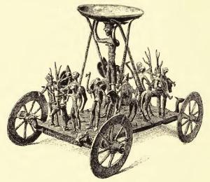 Strettweg cult wagon, Wikimedia