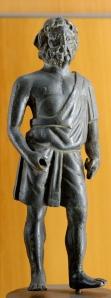 Vulcan. Bronze statuette, Roman work, 1st century AD? (Wikimedia)